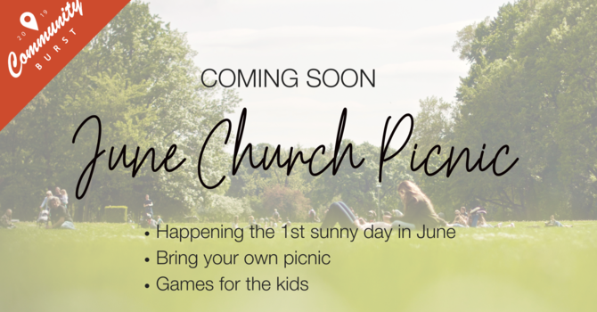 June Church Picnic image