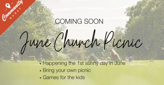June Church Picnic image