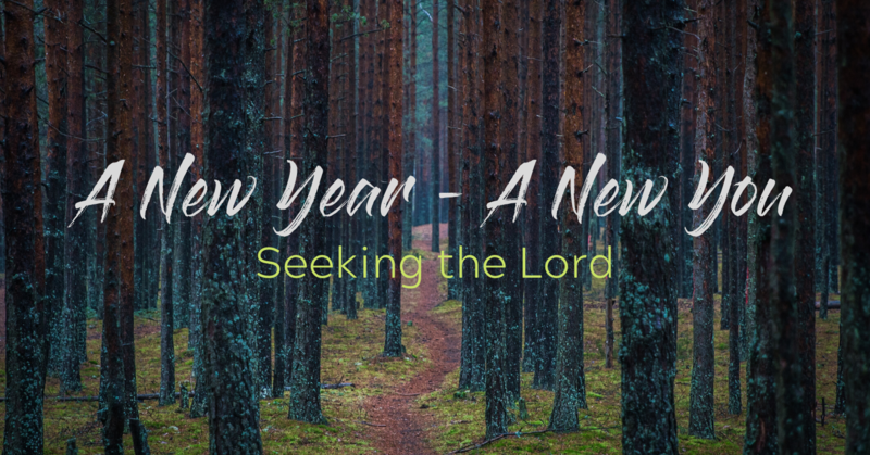 A New Year a New You - Seeking the Lord