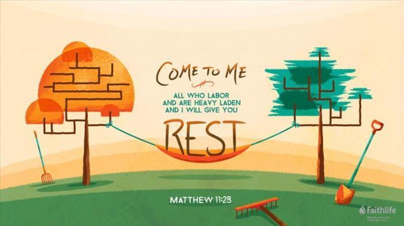 Enter His Rest Part VI (Conclusion)