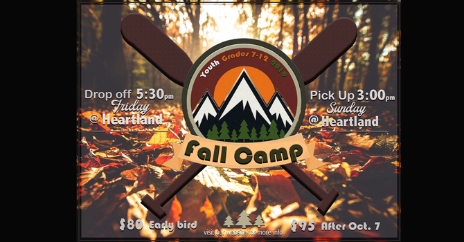 Youth - Grade 7-12 - Fall Camp Weekend