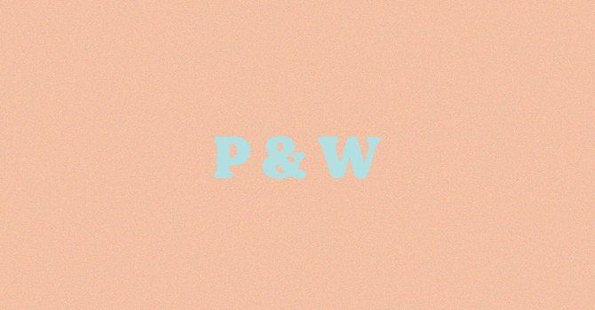 P&W - Prayer and Worship