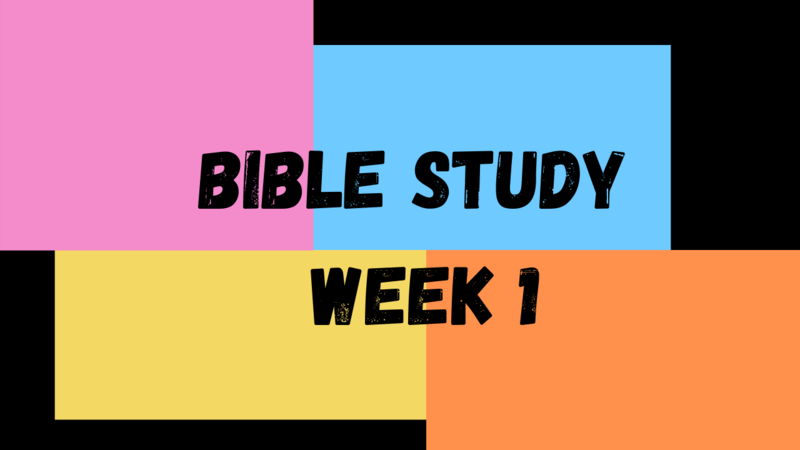 Elementary School Bible Study