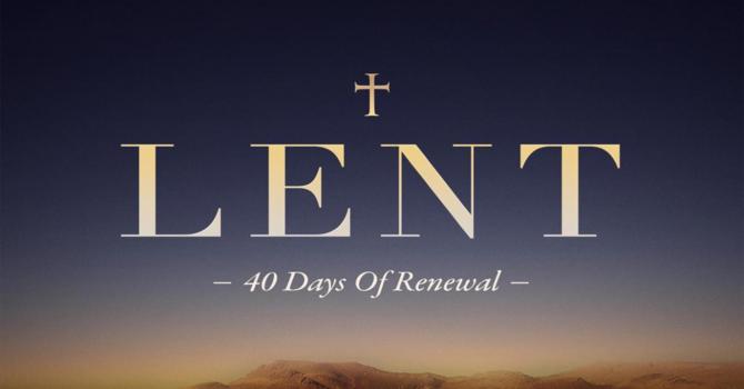 Season Of Lent 2021 image