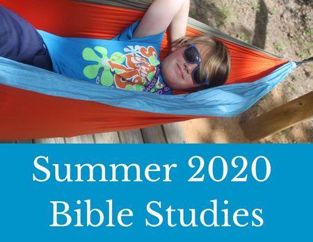 Summer 2020 Bible Studies