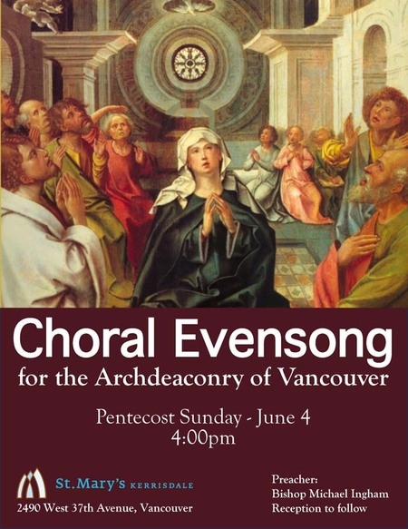 Vancouver Archdeaconry Choral Evensong