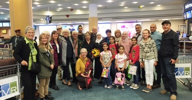 Update On Our Syrian Refugee Families image