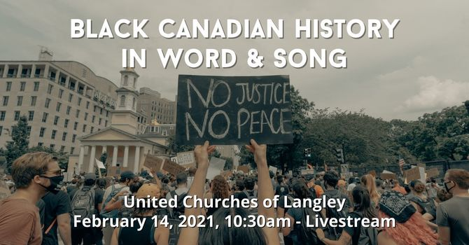 Black Canadian History in Word & Song