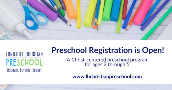 Preschool Registration image