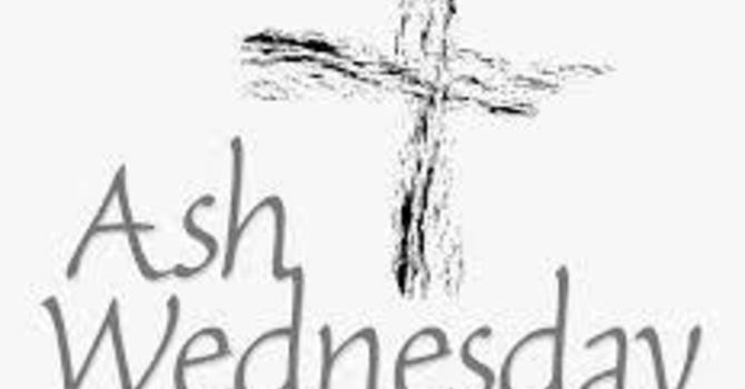 Ash Wednesday at Home image