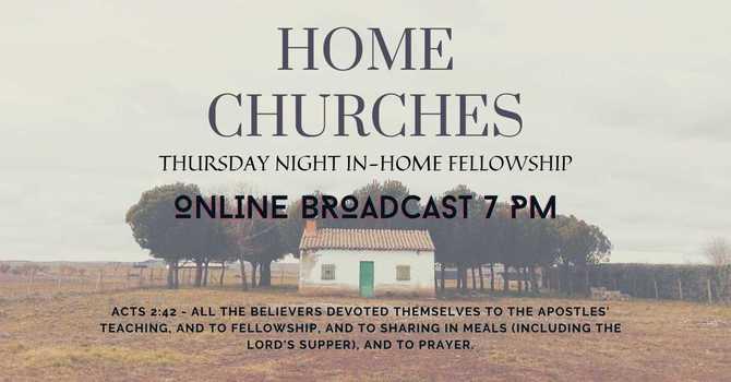 Thursday Home Churches