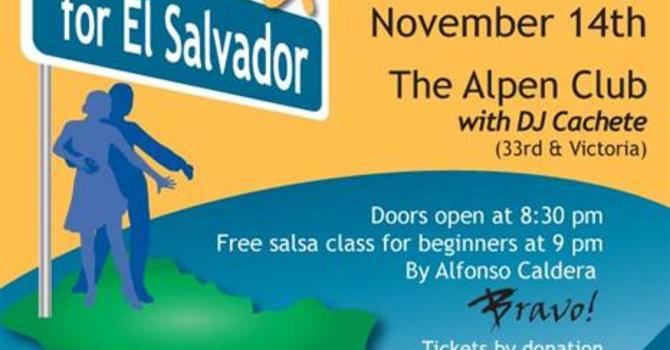 Salsa for El Salvador, November 14th, 2012 image