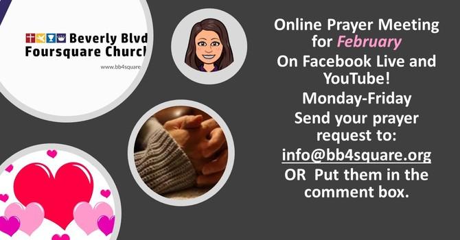 Online Prayer 2/2/2021 image