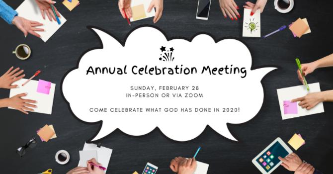 Annual Celebration Meeting image