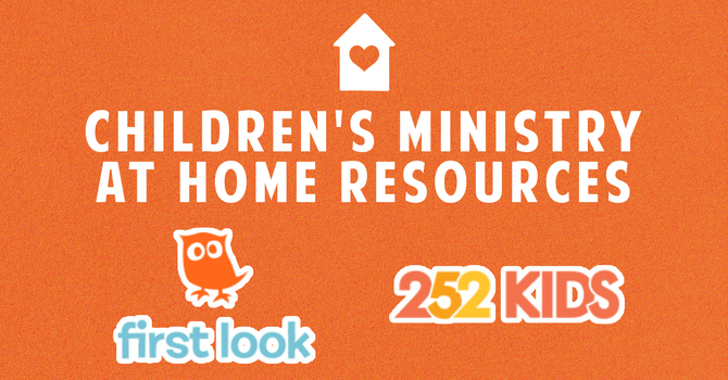 Preschool & SONshine Park At-Home Resources