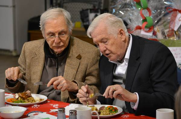 A Seniors' Moment Lunch