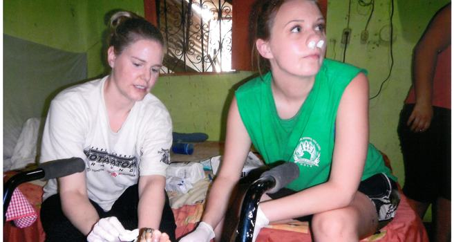 Guatemala Missions - Wound Care image