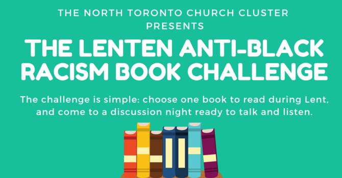 Information for The Lenten Anti-Black Racism Book Challenge image