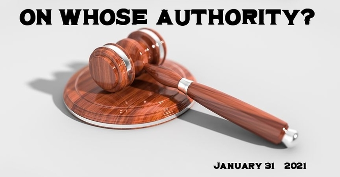 On Whose Authority?