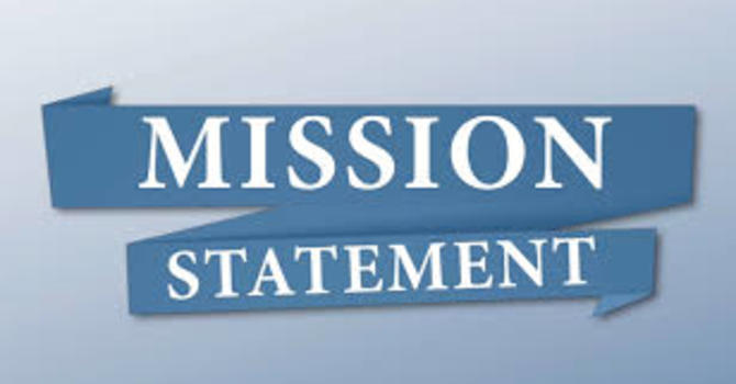 New Mission and Vision Statements  image