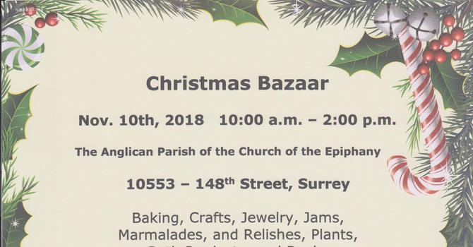 Epiphany Christmas Bazaar