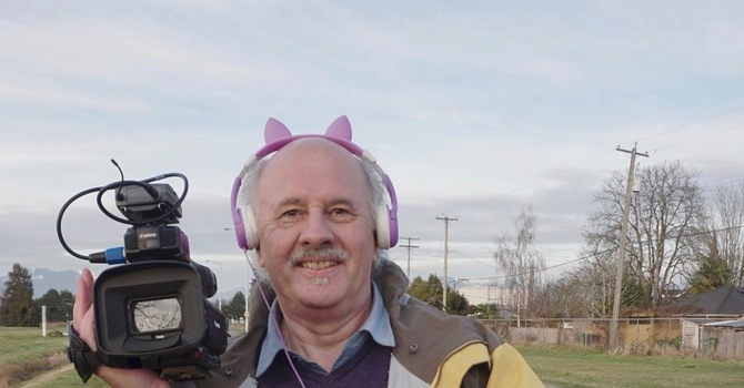 Borrowed Headphones for Diocesan Filmmaker  image