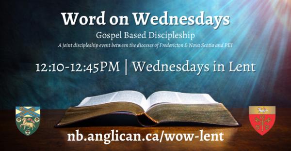 Word on Wednesdays - begins tomorrow