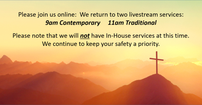 Returning to two Livestream services image