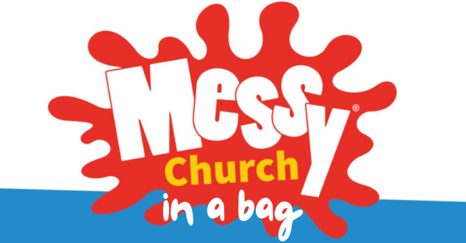 Messy Church in a Bag for October 2021 image