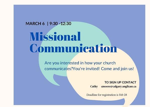 Missional Communication Workshop