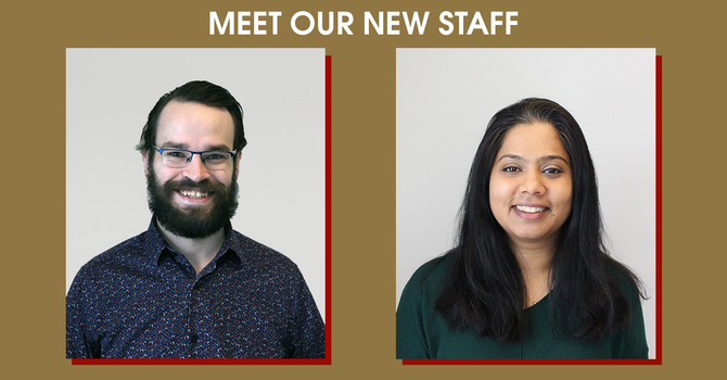 Meet Our New Staff Members image