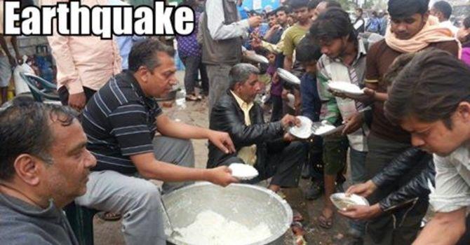 Earthquake Relief for Nepal through PWRDF image