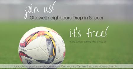 Free Drop-in Community Soccer