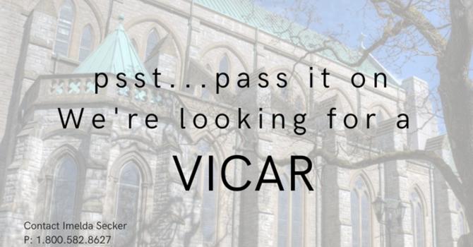 Job Posting:  Vicar, Christ Church Cathedral  image