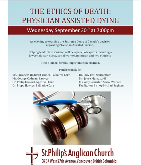 The Ethics of Death: Physician Assisted Dying