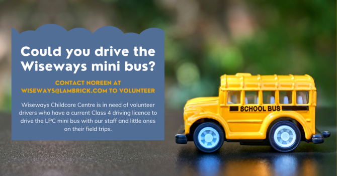 Could you drive the Wiseways mini bus?