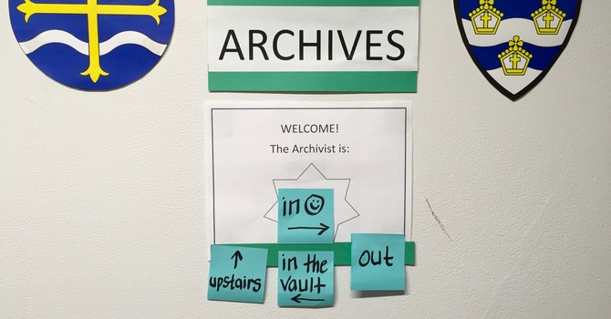 A visit to the Diocesan Archives image
