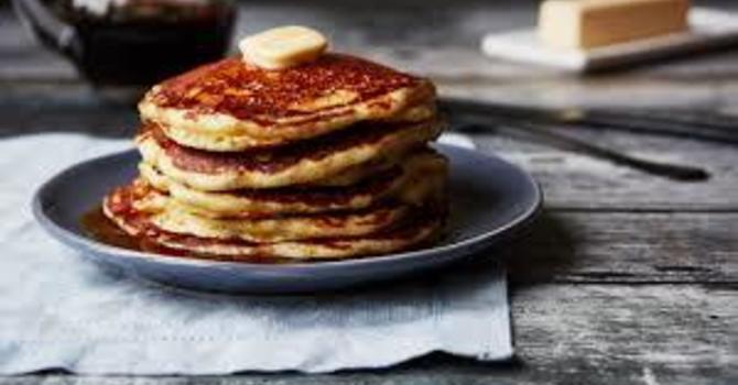 Shrove Tuesday - Pancake Fundraising Update  image