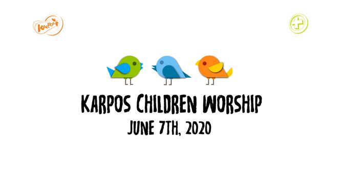 200607 Elementary Sunday Worship