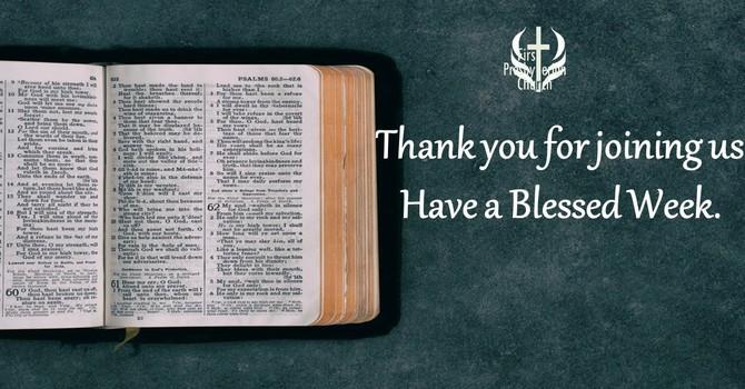 Sunday February 21 Message