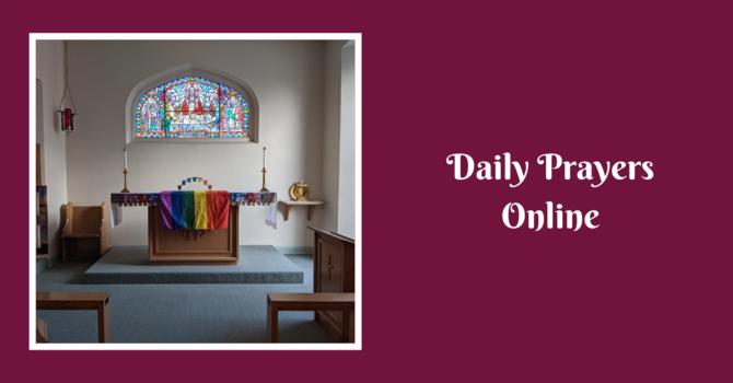 Daily Prayers for Thursday, February 18, 2021 image