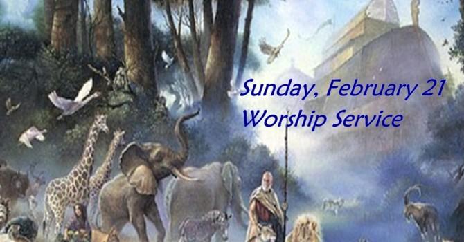 Sunday, February 21 Worship Service image