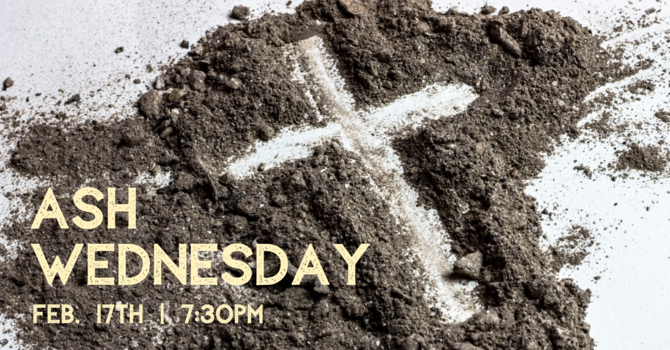 Ash Wednesday Service image