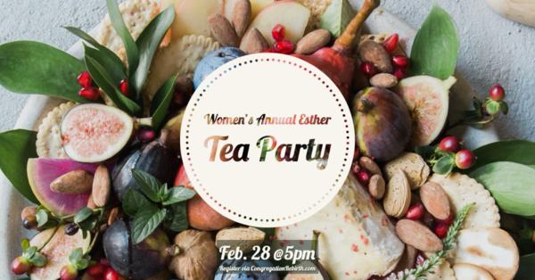 Women's Esther Tea Party