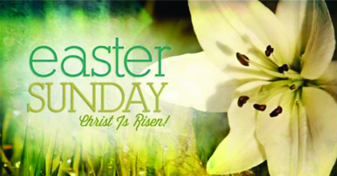 Easter Sunday Service -John 20:1-18 image