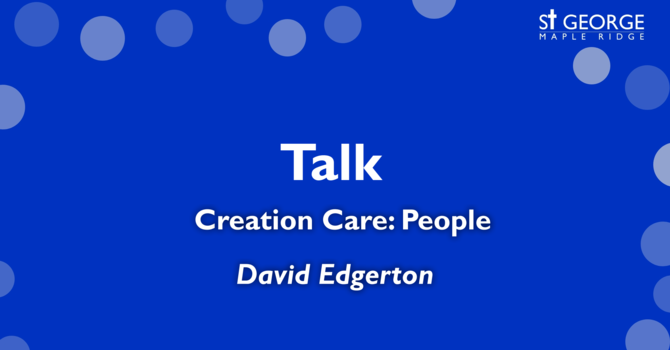 Creation Care: People image