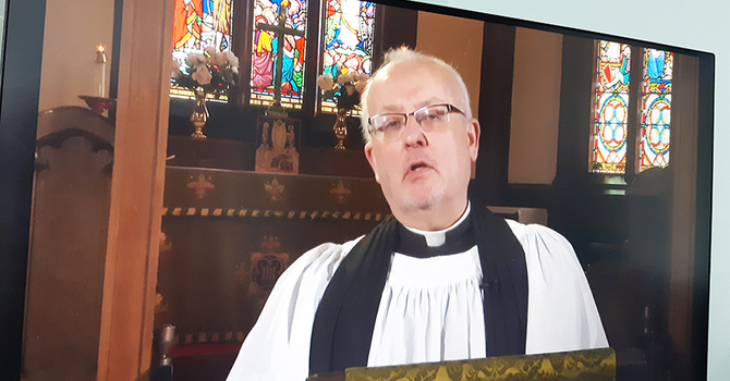 COVID connections — with the parish and beyond image