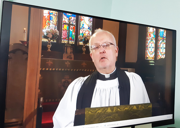 COVID connections — with the parish and beyond