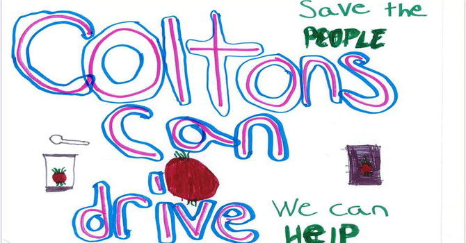 Colton's Can Drive image