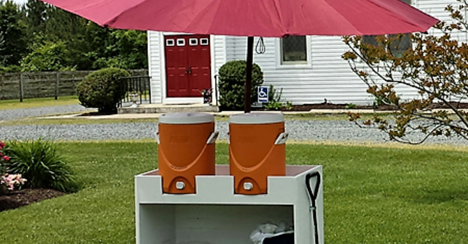 Lemonade Stand for Bicyclists